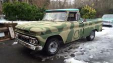 1966 GMC Short bed